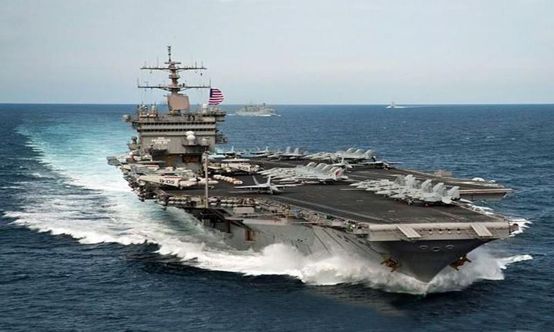 My phat met voi sieu tau san bay tau san bay USS Gerald R. Ford-Hinh-5