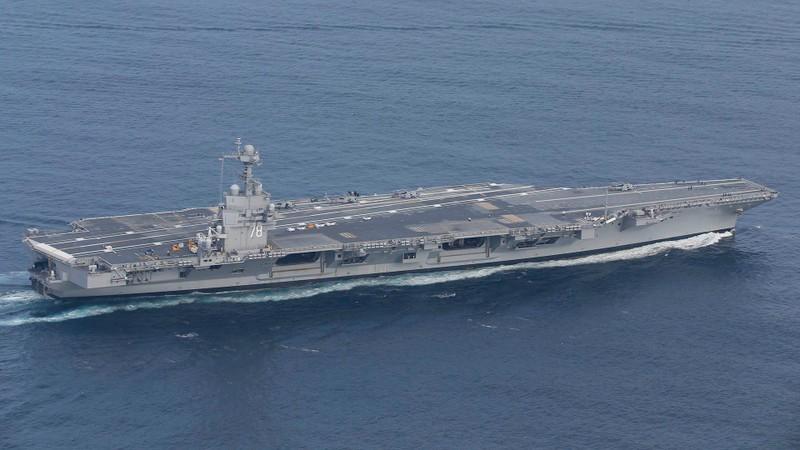 My phat met voi sieu tau san bay tau san bay USS Gerald R. Ford-Hinh-6