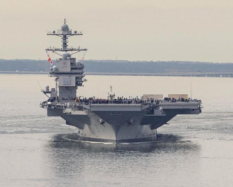 My phat met voi sieu tau san bay tau san bay USS Gerald R. Ford-Hinh-8