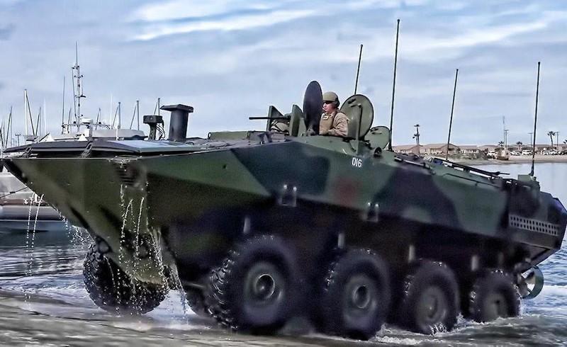 Điểm yếu chí tử trên thiết giáp chở quân lội nước của Mỹ