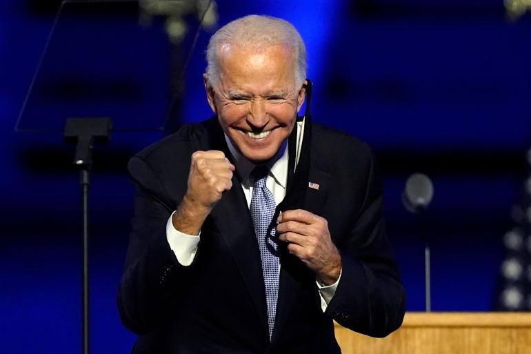 Chua nhan chuc, Joe Biden da