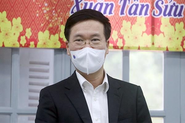 Thuong truc Ban Bi thu Vo Van Thuong: