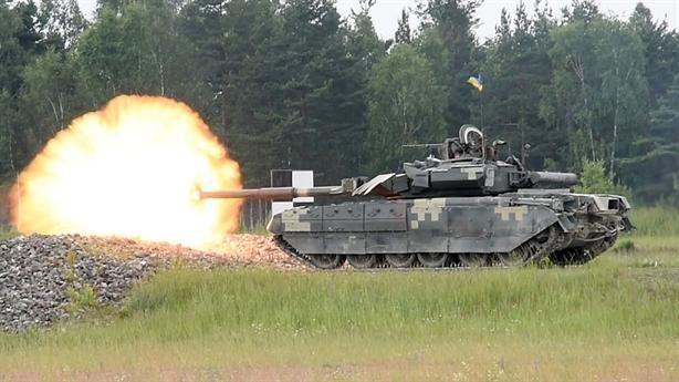 Dù xe tăng T-64 thảm bại, Kiev vẫn quyết không đưa T-84 vào tham chiến