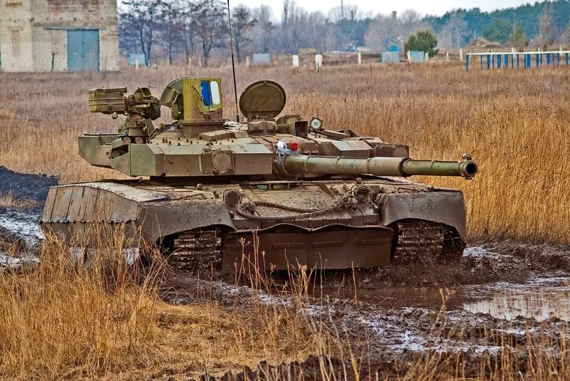Bao My: Xe tang T-84 Ukraine