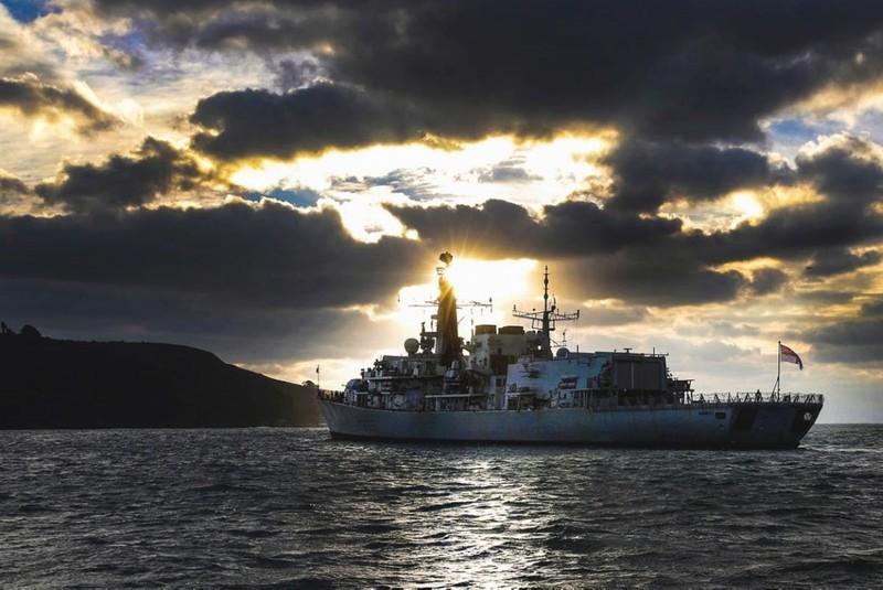 Khủng hoảng Ukraine: Sức mạnh tàu chiến Anh sắp