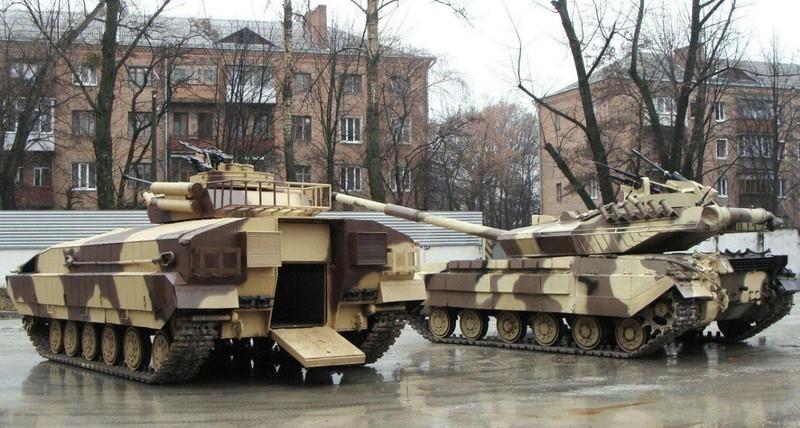 Xe tang T-64E Ukraine thanh ke huy diet nho phao tu dong 2 nong cuc manh-Hinh-14