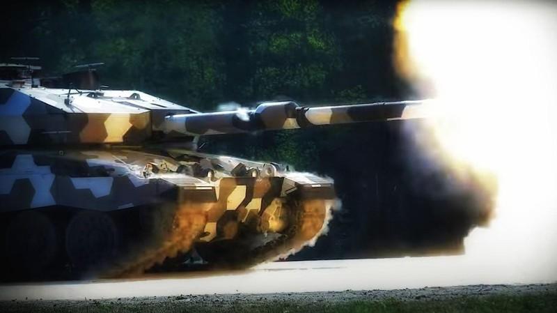 Xe tăng tương lai của châu Âu có pháo