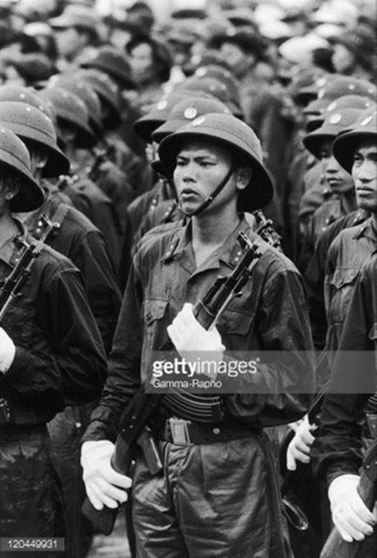 Cuoc duyet binh lich su chuan bi trong 2 tuan cua Viet Nam