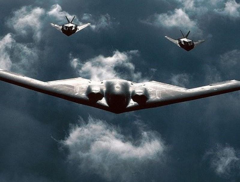 Diện tích phản xạ radar của máy bay B-2 chỉ bằng một con ruồi!