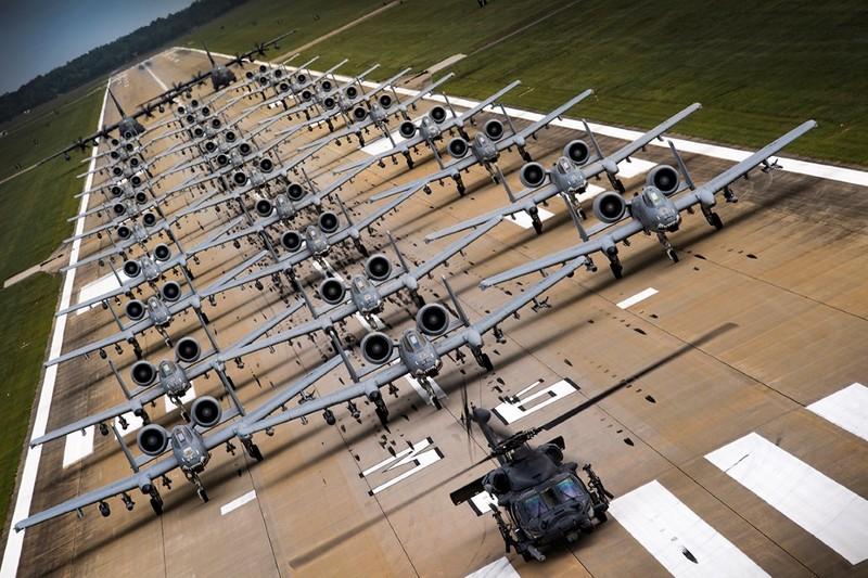 Bất ngờ: Không quân Mỹ đang có nhiều F-35 hơn cả F-15 và F-10