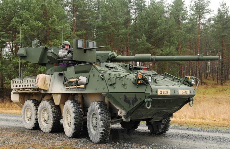 Mỹ tìm đối tác nhượng lại toàn bộ xe tăng bánh lốp M1128 MGS