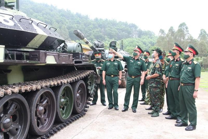 Xe tang T-54 nang cap bat dau duoc ban giao hang loat cho don vi tac chien-Hinh-2