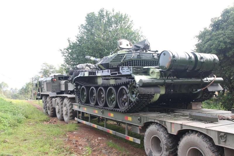 Xe tang T-54 nang cap bat dau duoc ban giao hang loat cho don vi tac chien-Hinh-4