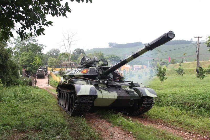 Xe tang T-54 nang cap bat dau duoc ban giao hang loat cho don vi tac chien-Hinh-6