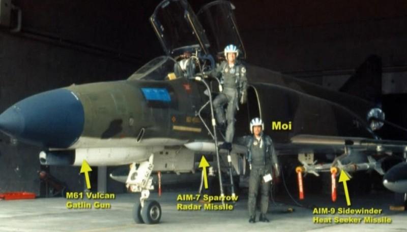 F-4E Phantom II, cu sua sai cua My sau khi rung toi ta tren bau troi Viet Nam-Hinh-12