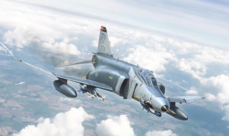 F-4E Phantom II, cu sua sai cua My sau khi rung toi ta tren bau troi Viet Nam-Hinh-25