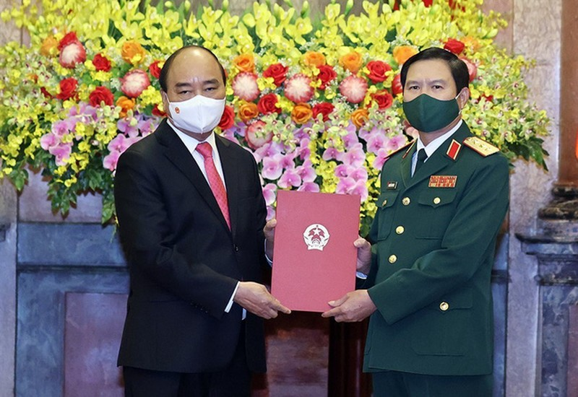 Thuong tuong Nguyen Tan Cuong lam Tong Tham muu truong QDND Viet Nam