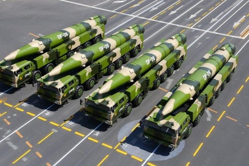 Cận cảnh sức mạnh loại tên lửa DF-26 khiến Mỹ