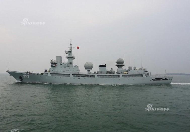Tàu trinh sát Trung Quốc lởn vởn ngoài khơi, Australia bực mình!