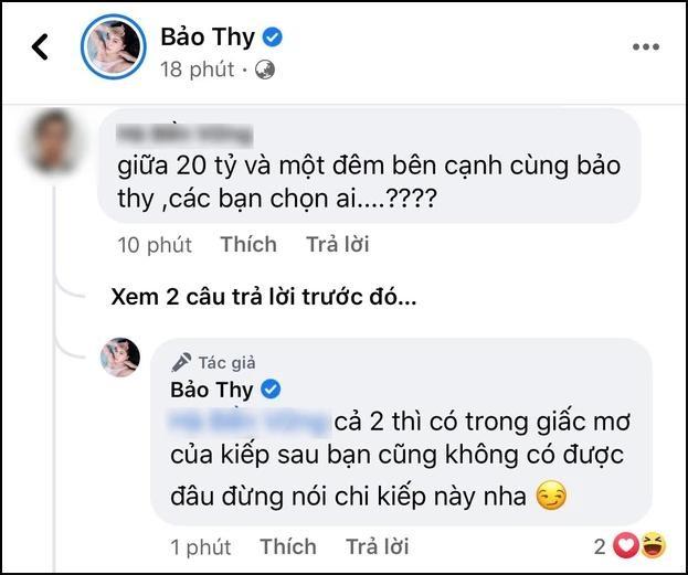 Bao Thy - Ly Nha Ky cung bi dua vao chuyen '20 ty hay 1 dem'-Hinh-2