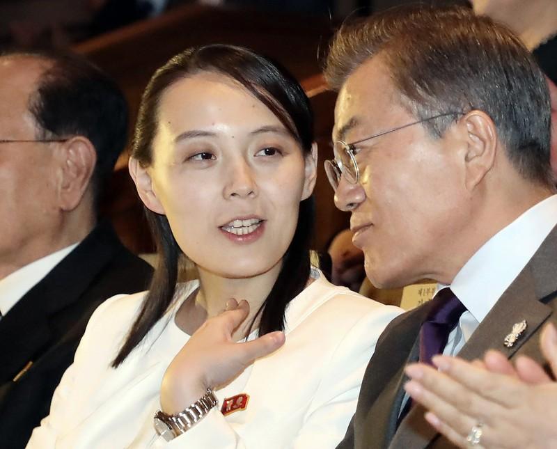 Ba Kim Yo Jong gui thong diep moi cho Han Quoc