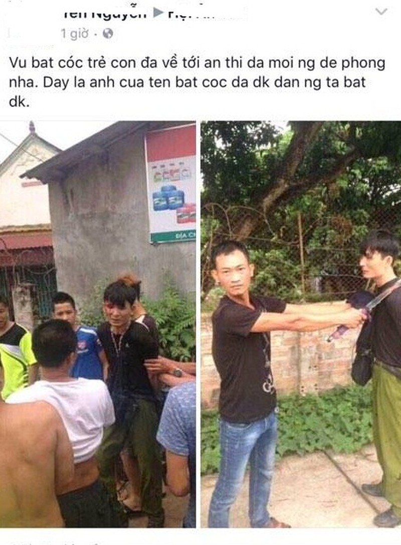 Su that thong tin bat coc tre em o Hung Yen