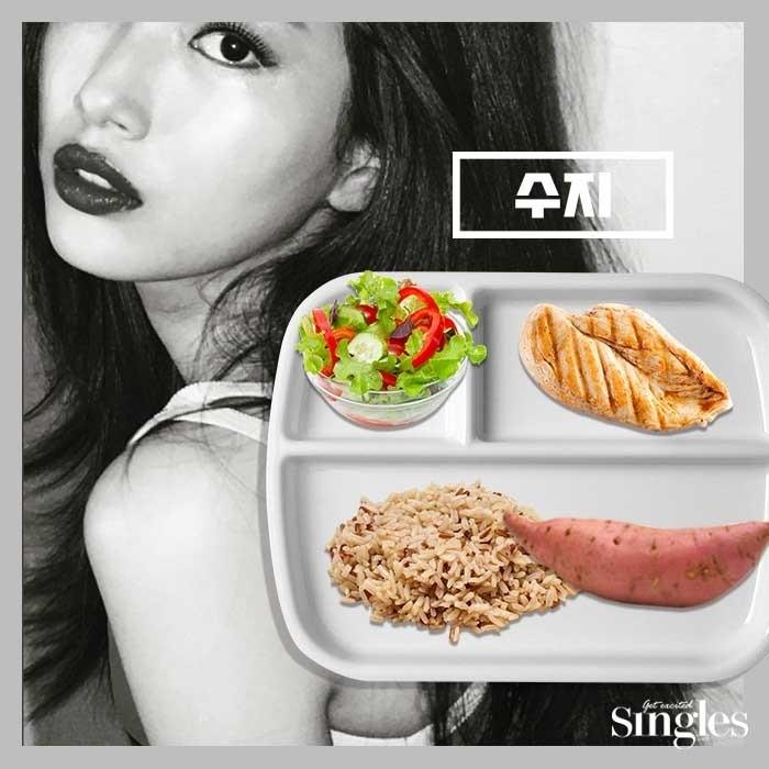 Hoc my nhan Han giam can nhanh chong bang khoai lang-Hinh-2