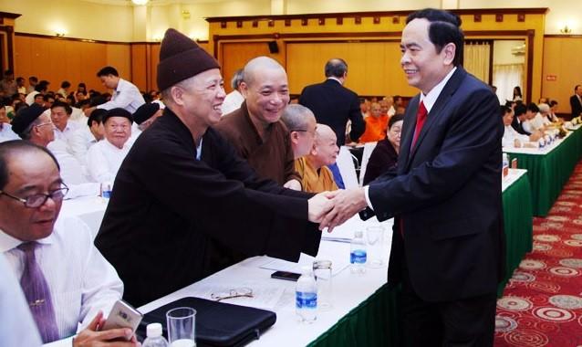 Ong Tran Thanh Man lam Chu tich Mat tran To quoc Viet Nam-Hinh-3