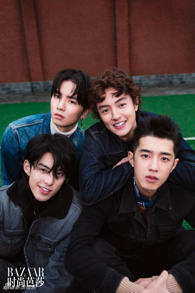 "F4 cua ""Vuon sao bang 2018"": Dep trai nhung khong ai biet ten"