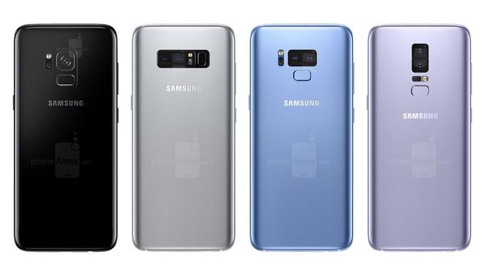 Galaxy S9 xuat hien, thay doi ve camera va cam bien van tay