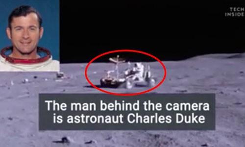 NASA lan dau cong bo video phi hanh gia lai xe tren Mat Trang
