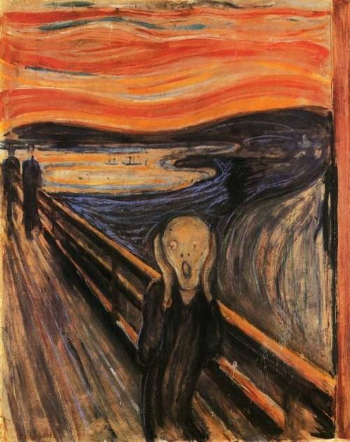 Giải mã bí ẩn về 'bầu trời bốc lửa' trong bức tranh Tiếng Hét - 1