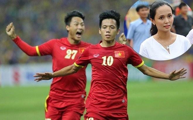 Nguoi vo gioi giang, xinh dep cua Van Quyet U23 Viet Nam