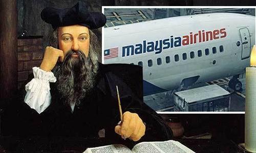 Nha tien tri Nostradamus da doan truoc tham kich MH370?