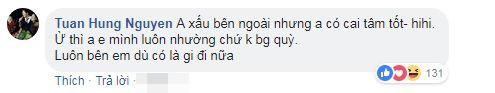 Tuan Hung dap tra anti fan khi bi cong kich