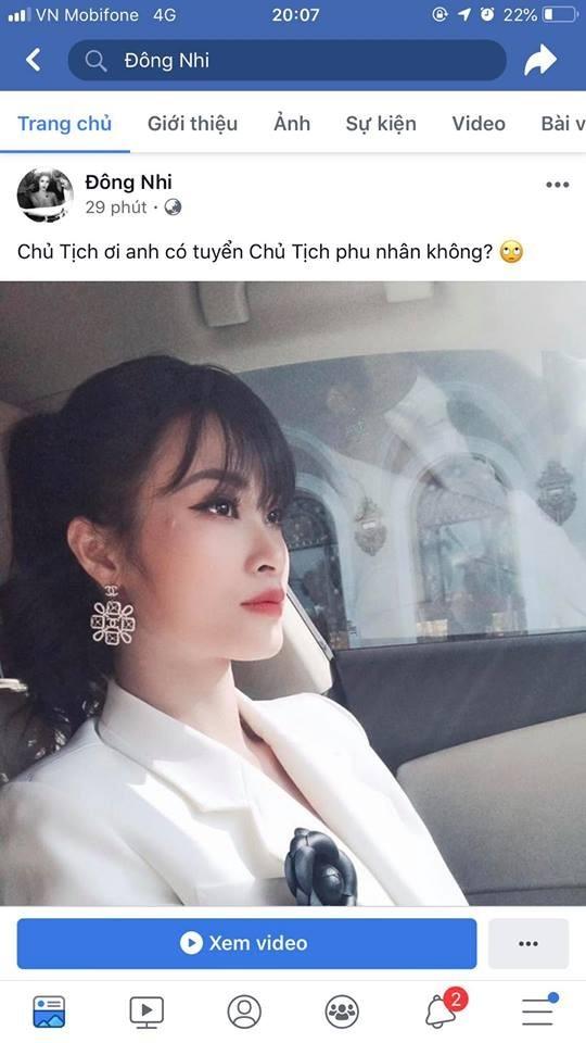 Ong Cao Thang phan ung la khi Dong Nhi