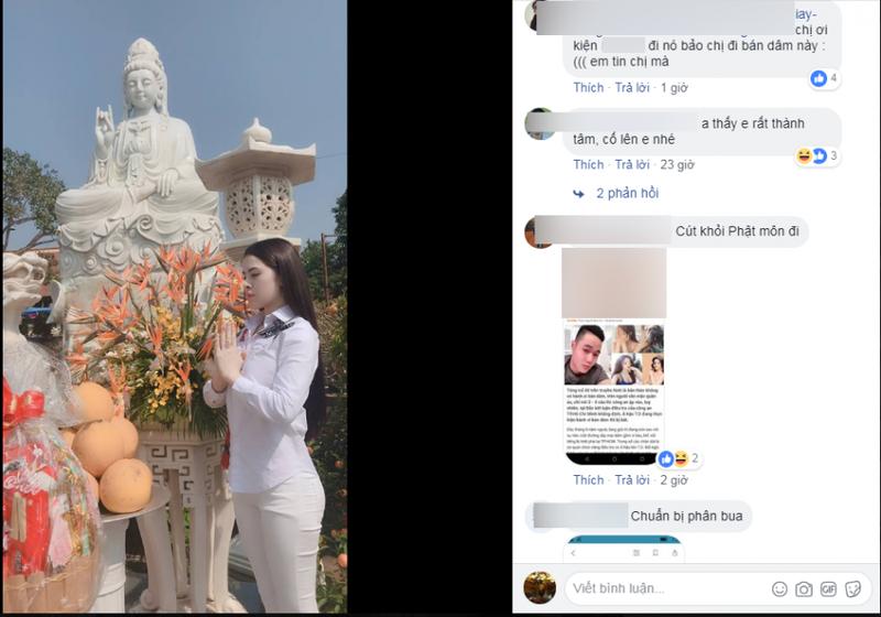 A hau Thu Dung hanh dong bat ngo sau khi bi xac nhan ban dam