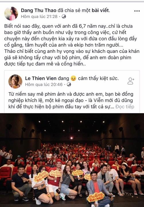 Hoa hau Dang Thu Thao bi