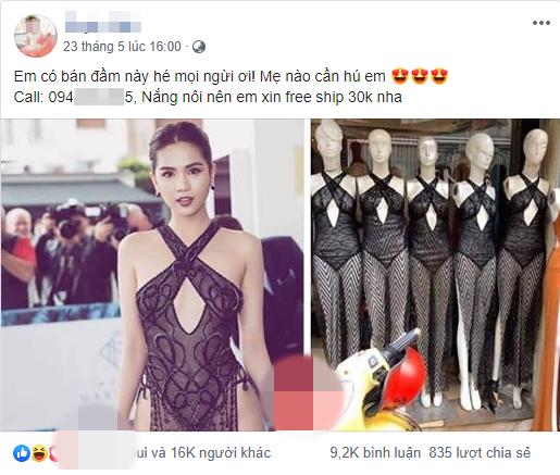 Dong gia 130k de duoc thanh Ngoc Trinh tai LHP Cannes 2019