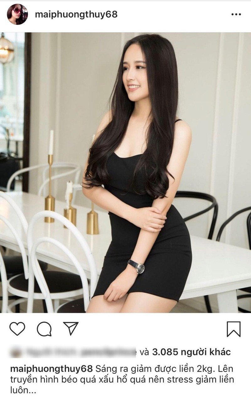 Ly do that su khien Mai Phuong Thuy giam 2 kg