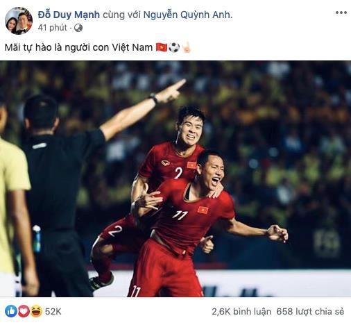 Duy Manh, Van Lam khong giau duoc niem vui sau chien thang Thai Lan