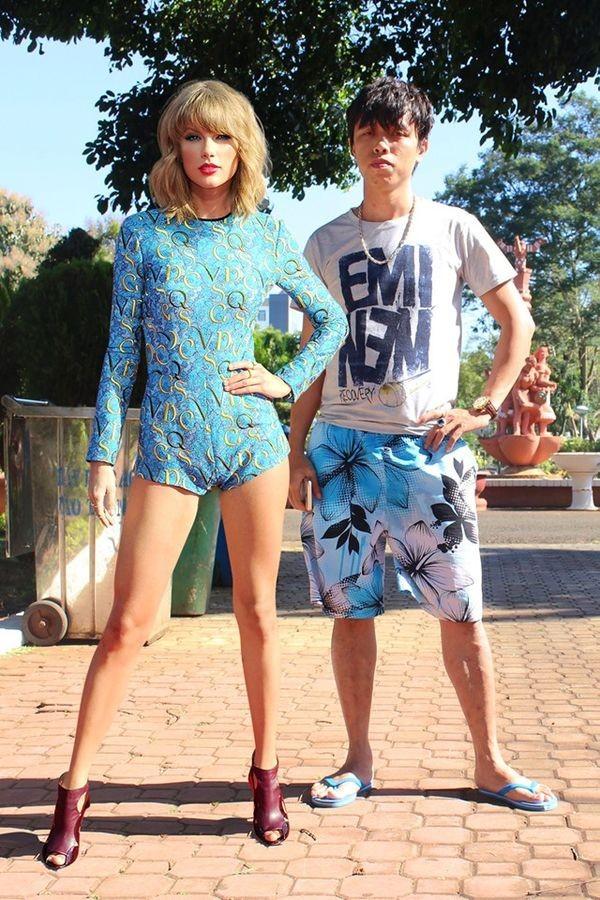 Cuoi bo loat anh hen ho cua Thanh photoshop cung Taylor Swift-Hinh-5