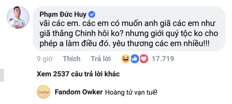 Duoc me bim sua nhan tin xin ket ban, Duc Huy dang tus la-Hinh-2