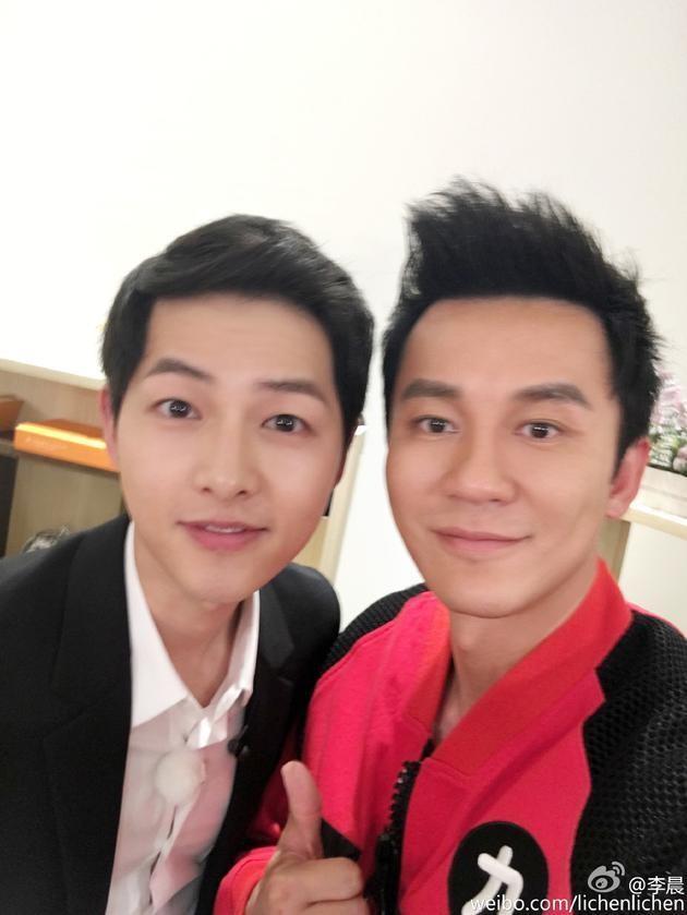 Anh Ly Than, Song Joong Ki chup chung bat ngo hot trong ngay chia tay