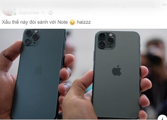 Nguoi Viet che nhung van san don iPhone 11