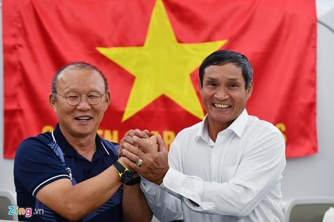 Thay Park, HLV Mai Duc Chung than thiet sau ky SEA Games lich su