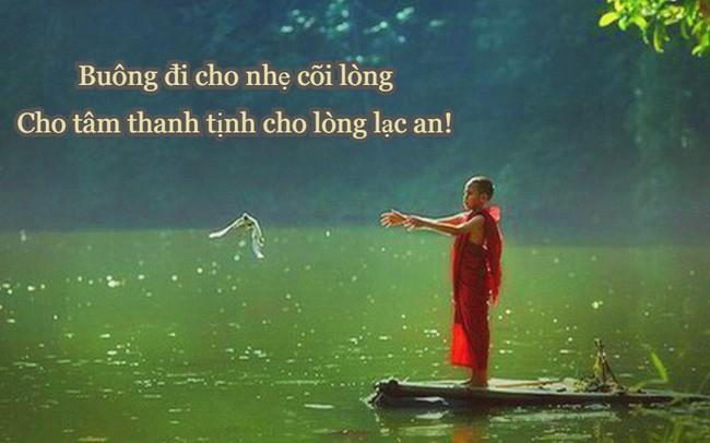 "Muon song thanh than, cuoc doi binh an, chi can ""vut"" di 3 thu"