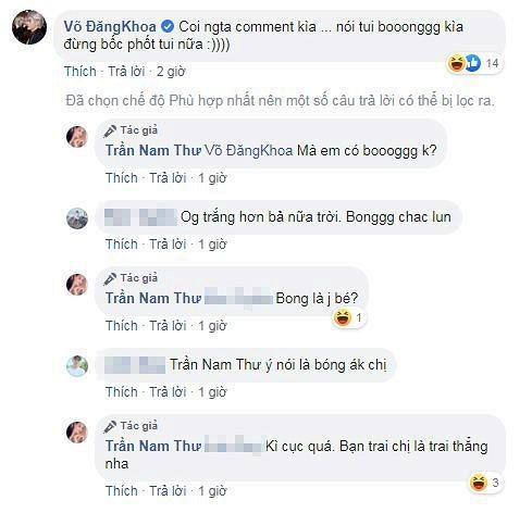 Nam Thu gay chu y khi nam len nguoi chau nuoi cua danh hai Hoai Linh-Hinh-3