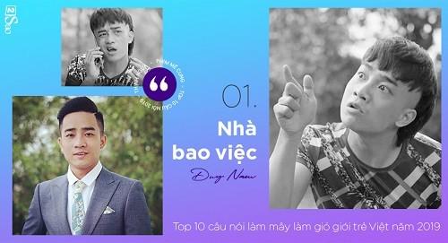 Nhung cau noi viral nhat cua cong dong mang trong nam 2019