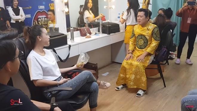 Truong Giang len tieng lo lang ve co the sieu mong cua ba xa